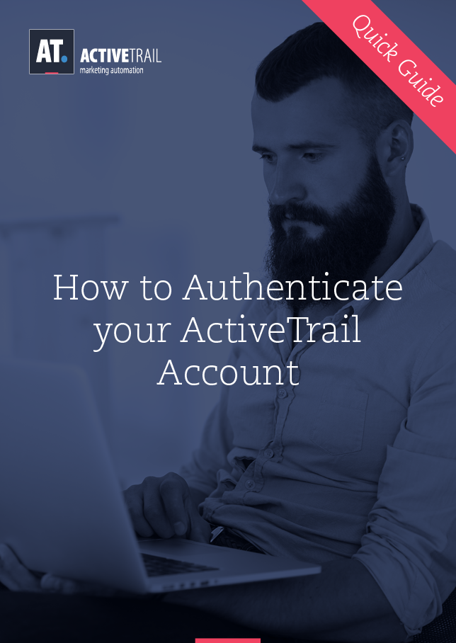 Guía rápida – Autentifica tu cuenta de ActiveTrail
